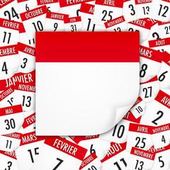 Fond - calendrier / agenda / rendez-vous