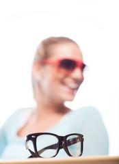 Werbefoto für Brille
