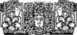Maya Triptych Woodblock A - 40895602