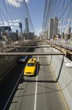 Fototapety brooklyn bridge cab