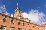 Sights of Poland. Warsaw Royal Castle.