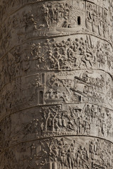 Column of Marcus Aurelius, detail