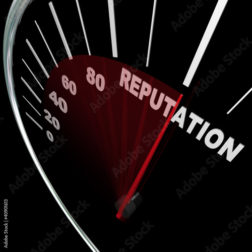 Reputation Speedometer Improving Your Standing Results