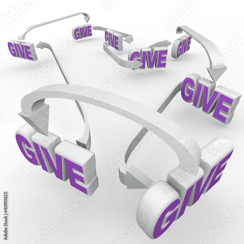 Give Words Connected Fund-Raising Spreading the Word