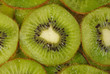 Macro.Healthy kiwi food background.