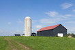 Silo and a barn
