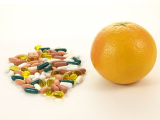 Two sources of vitamins, isolated