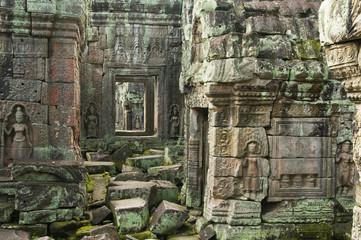 Devata, Preah Khan Temple, Angkor Wat, Cambodia