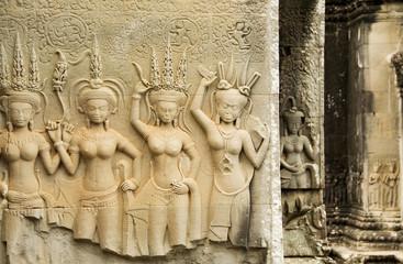 Devata, Angkor Wat Temple, Cambodia