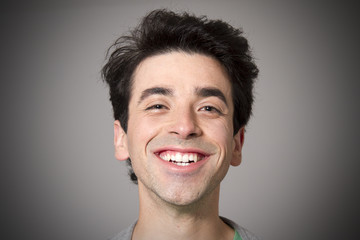 Retrato de pessoa a sorrir