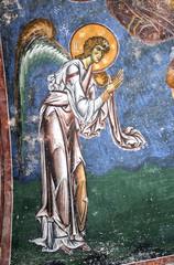archiangel gabriel,frescoe, kurbinovo,macedonia