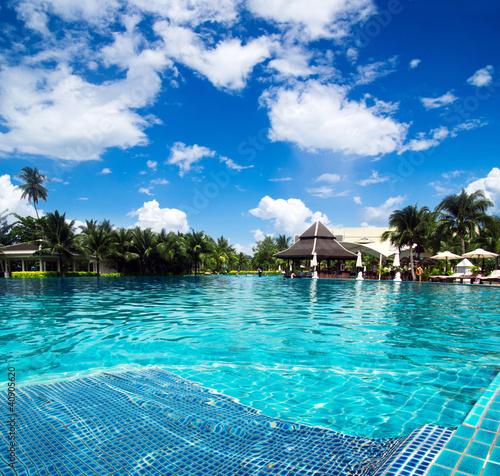 Foto op Plexiglas Indonesië swimming pool