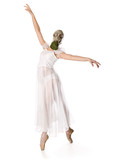 Ballerina is in the respirator