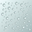 vector background of water drops