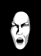 Masques: colère