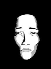 Masques: tristesse