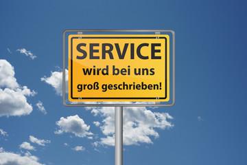 SERVICE wird bei uns groß geschrieben!