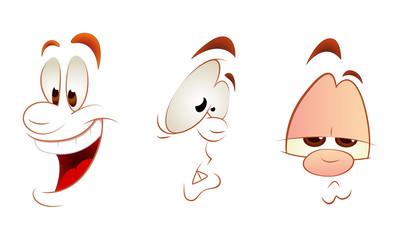 Cartoon Faces Clipart