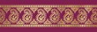 paisley floral border ,saree, textile design, royal India