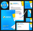 Business style (corporate identity) template 6: blue