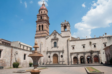 Church of St. Augustine Morelia (Mexico)