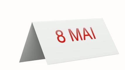 animation 8 mai