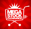 Mega stock clearance design