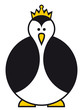 Kaiserpinguin - Emperor Penguin with Crown