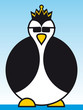 Kaiser Pinguin - Emperor Penguin with sunglasses