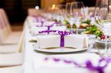 Fototapety Wedding Table Decorations