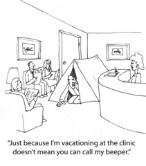 Doctor Goes on Vacation