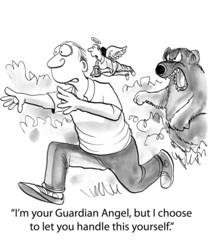 Guardian Angel Abandons Man