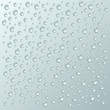 vector background with a lot of water drops