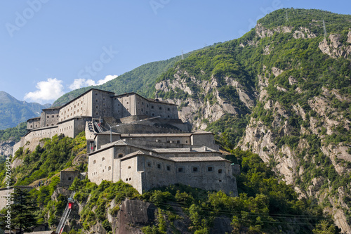 Fortress of Bard (Aosta, Italy)