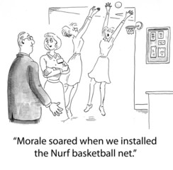 Morale Among Hospital Nursing Staff