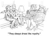 Dress Like Royalty poster