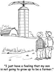 Farmer's Son is Not Into Farming