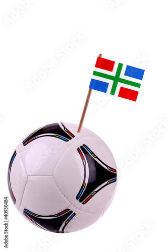 Soccerball or football in Groningen