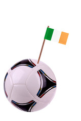 Soccerball or football in Ireland