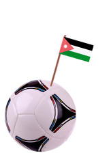 Soccerball or football in Jordan