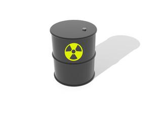 Barril radiactivo