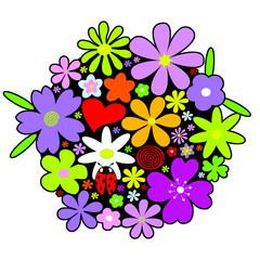 Blumenstrauss | Blumen | Frühlingsblumen CMWK