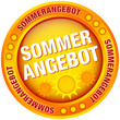 "Button ""Sommerangebot"" gelb/orange"