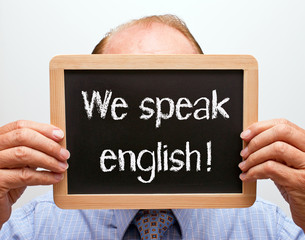 We speak english !
