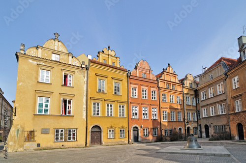 Old Town in Warsaw - bell