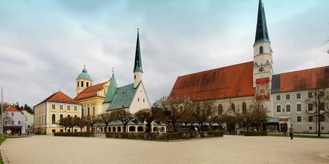 Altötting, Wallfahrt, Kapellplatz,