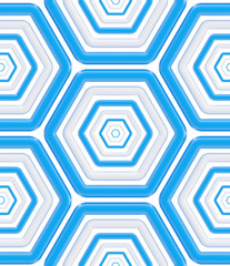Seamless abstract texture made of hexagons