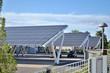 Leinwanddruck Bild - Parcheggio solare