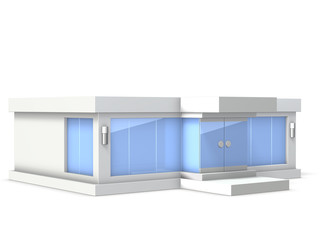 Architectural Model of the showroom