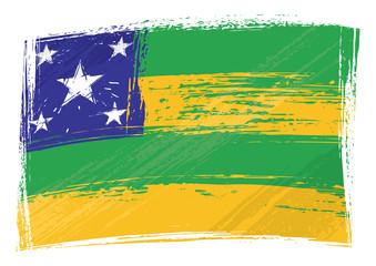 Brazilian state Sergipe flag